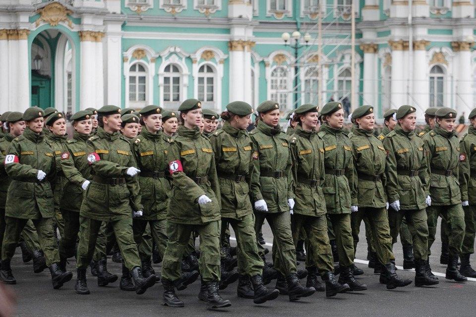Репетиция парада Победы на Дворцовой площади. Изображение № 10.