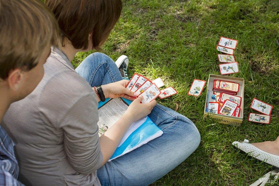 Люди в городе: Играющие в парках. Изображение № 24.