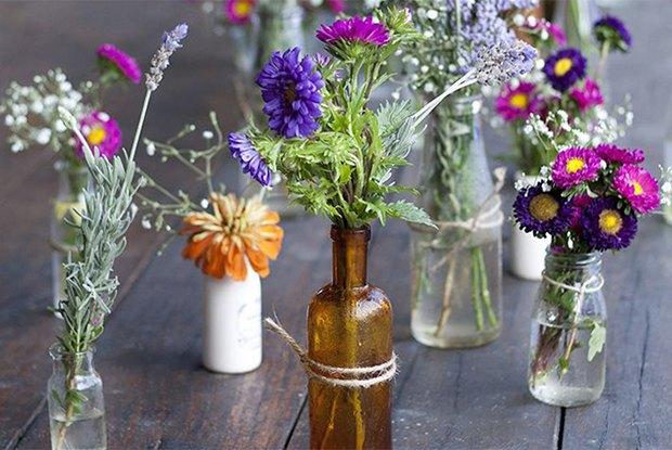 Раз ромашка, два ромашка: Из каких цветов и растений делать букеты на даче. Изображение № 4.
