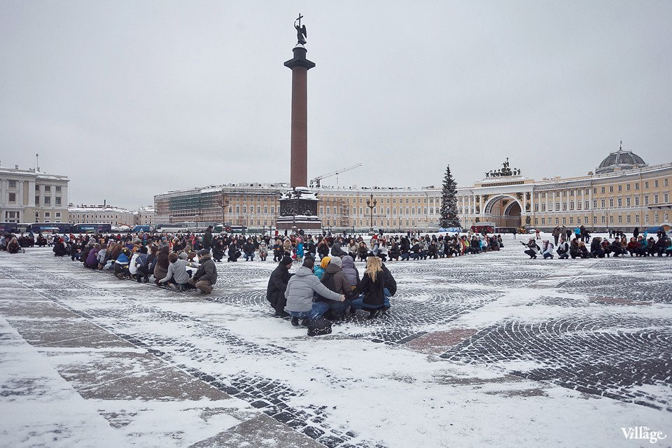 Фоторепортаж: Gangnam Style и зарядка на Дворцовой площади. Изображение № 31.