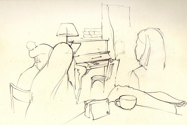 Клуб рисовальщиков: Музыканты. Изображение № 14.
