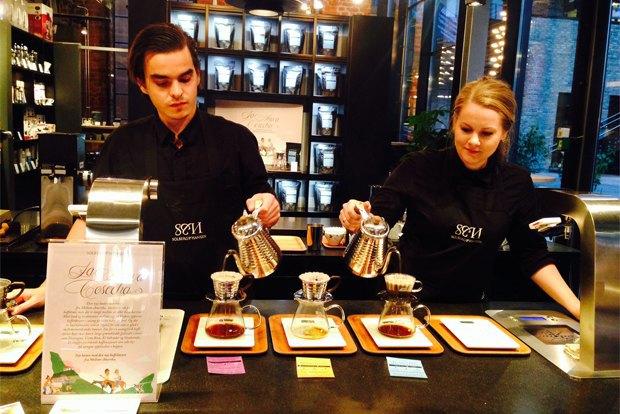 Где пить кофе вОсло. Изображение № 6.