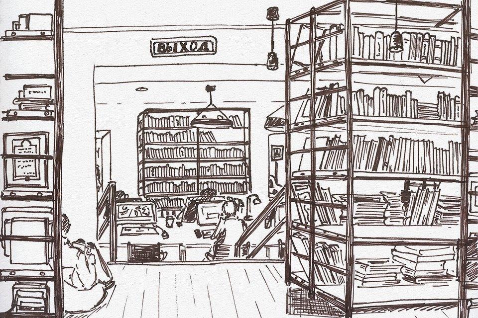 Библиотека им. Достоевского . Изображение № 5.