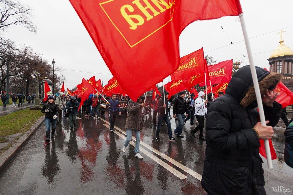 Фоторепортаж: День народного единства вПетербурге. Изображение № 9.