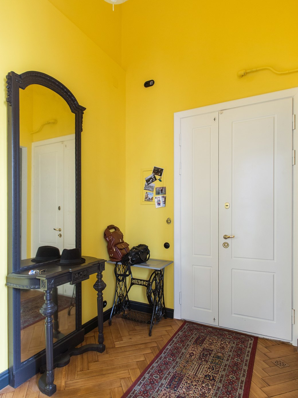 Светлая квартира с гостиной-кинотеатром наплощади Труда (Петербург). Изображение № 26.