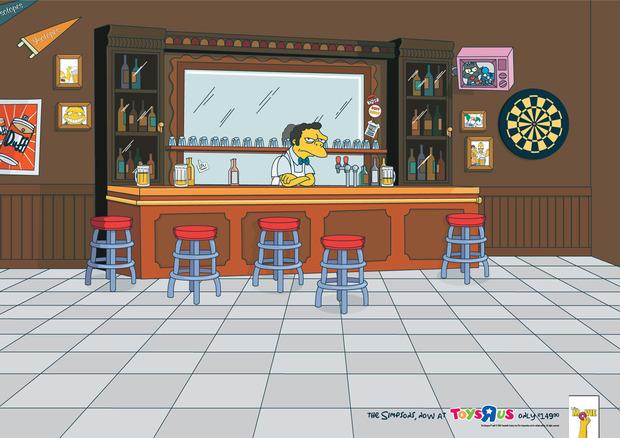 На Пятницкой откроется кафе из «Симпсонов». Изображение № 1.