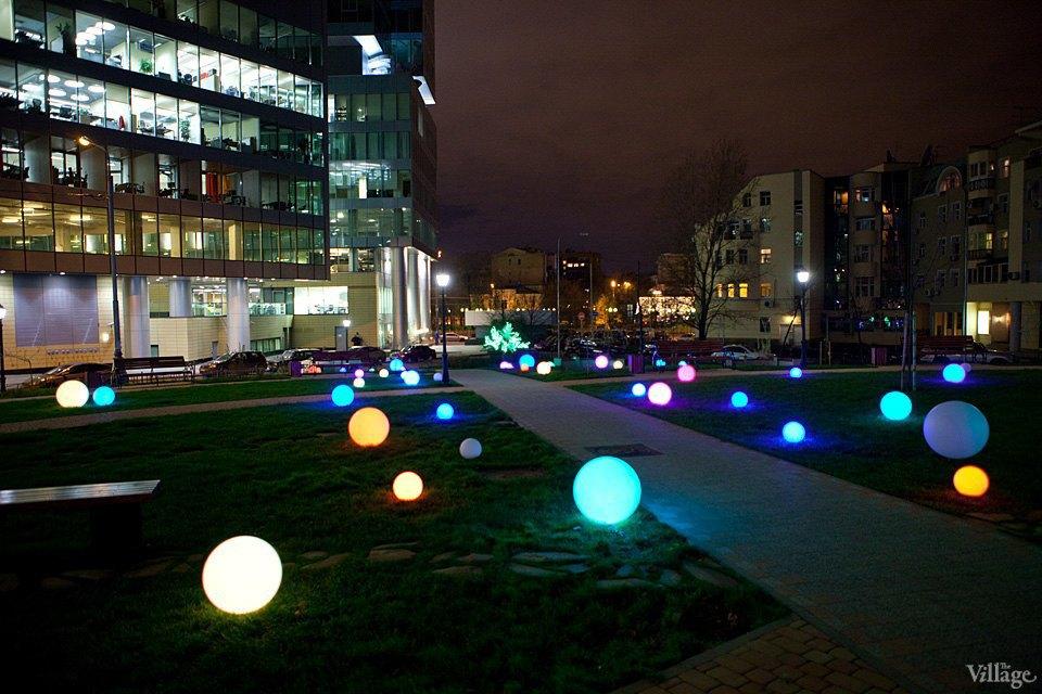 Фото ночи: Новый парк на«Трубной». Изображение № 1.