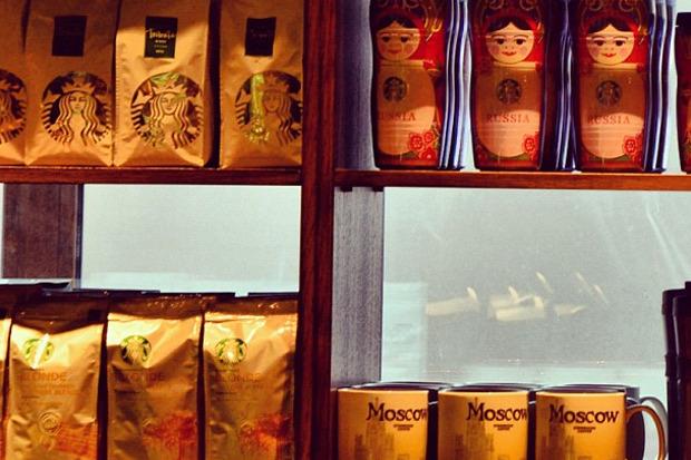 Starbucks в Москве. Изображение № 3.
