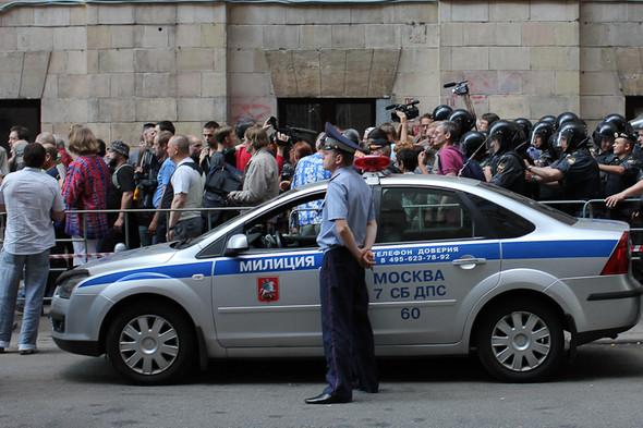Изображение 10. Copwatch: действия полиции на митинге «Стратегии-31» на Триумфальной площади.. Изображение № 9.