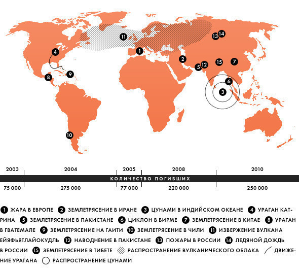 Изображение 5. В диких условиях: главные природные катаклизмы десятилетия.. Изображение № 1.
