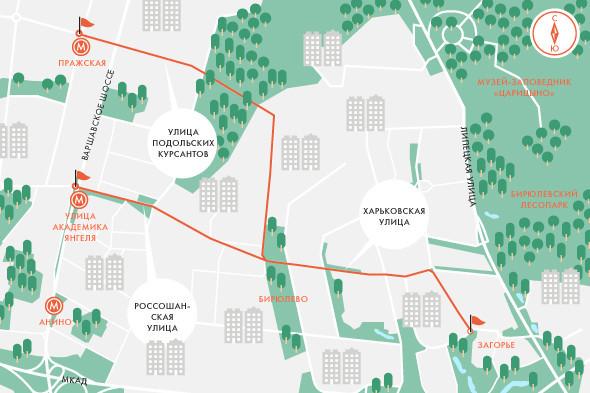 Определены маршруты скоростного трамвая в Москве. Изображение № 5.