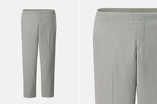 Семь пар светлых женских брюк . Изображение № 2.