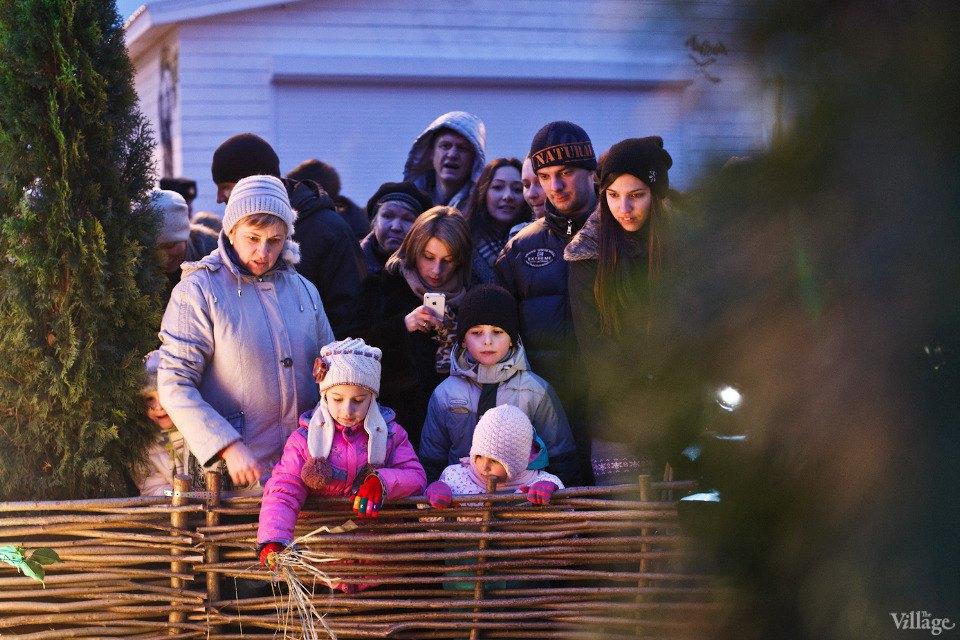 Люди в городе: Рождественская деревня ВВЦ. Изображение № 8.