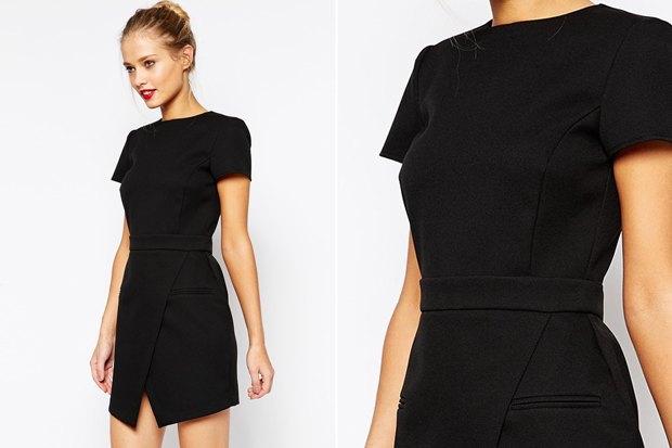 Купить черное платье футляр в москве