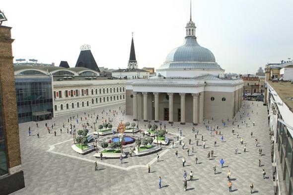 Прямая речь: Начальник российских вокзалов о реконструкции Комсомольской площади. Изображение № 26.