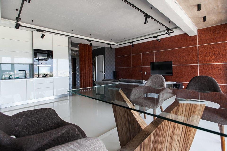 Мужская квартира с панорамным видом на город. Изображение № 10.
