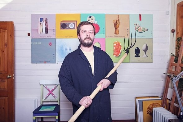 Сергей Кужавский, дизайнер и художник. Изображение № 4.