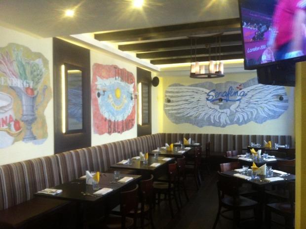 На Красной Пресне открылся первый ресторан сети Serafina. Изображение № 1.
