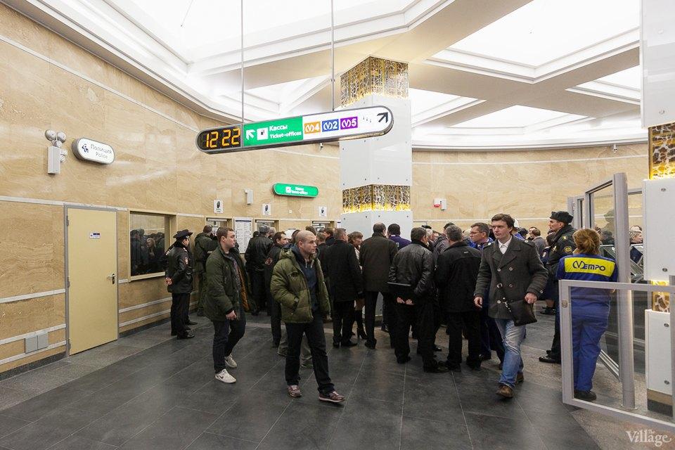 Фоторепортаж: Новый вестибюль «Спасской» изнутри. Изображение № 2.