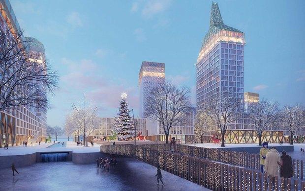 Проект KCAP Architects & Planners и Orange Architects. Изображение № 3.
