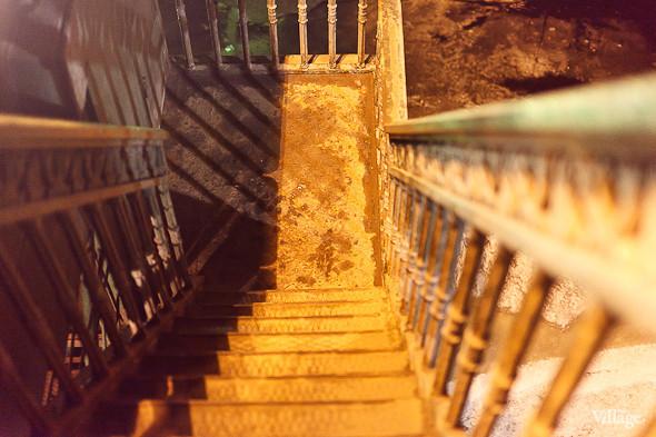 Фоторепортаж: Как разводят Дворцовый мост. Изображение № 11.