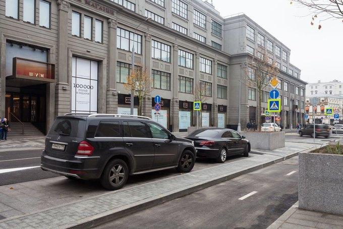 На Неглинной улице появились сквер и велодорожка . Изображение № 2.
