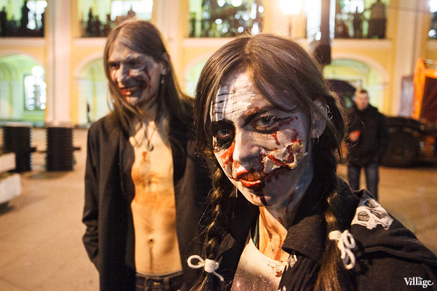 Люди в городе: Хеллоуин вПетербурге. Изображение № 2.
