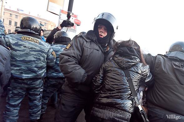 Фоторепортаж: Митинг 5 марта на Исаакиевской площади. Изображение № 23.