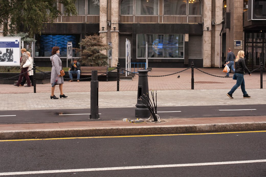 Берегись пешехода:  Большая Ордынка, Мясницкая иПатриаршие пруды после реконструкции. Изображение № 26.