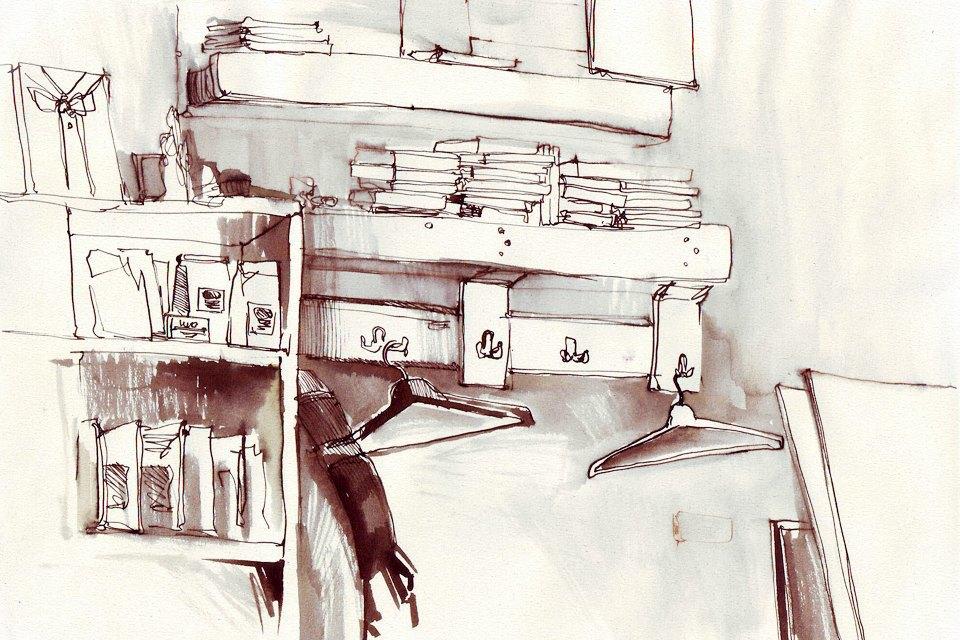 Клуб рисовальщиков: Кофейня LES. Изображение № 4.
