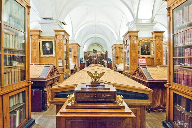 Зал с ценными изданиями и рукописями. Изображение № 18.