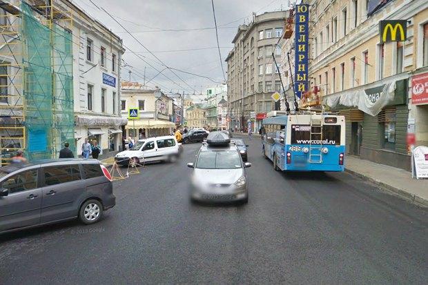На Покровке и Маросейке расширят тротуары. Изображение № 3.