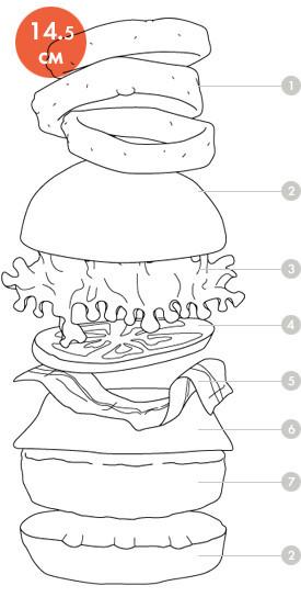 Между булок: Что внутри у самых больших московских бургеров, часть 2. Изображение № 84.
