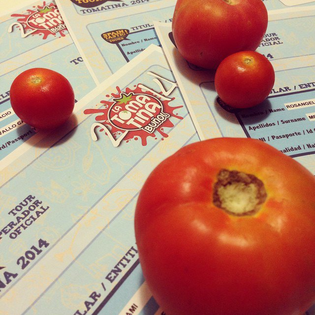 Битва помидорами вИспании вснимках Instagram. Изображение № 15.