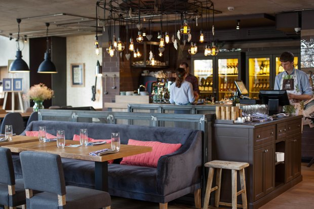Второе кафе «Вай Мэ!», Kotleta в зоопарке, ресторан O`Jules и киоск Dippin' Dots. Изображение № 2.