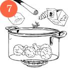 Рецепты шефов: Филе говядины с пюре из цветной капусты и соусом из лисичек. Изображение № 9.