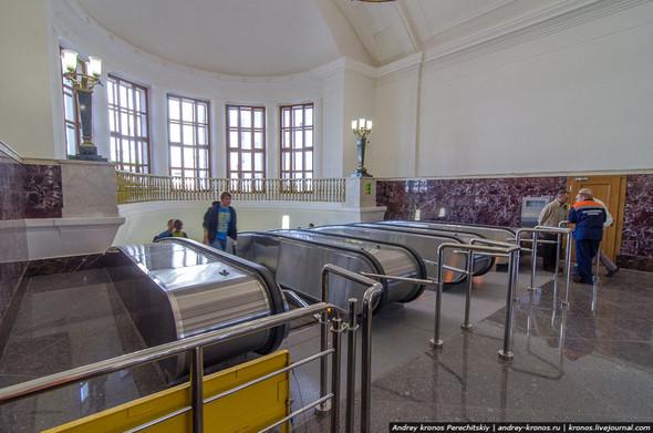 Станция «Парк Культуры» открылась для пассажиров. Изображение № 2.