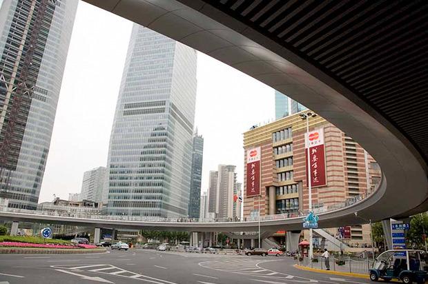 Идеи для города: Круглый пешеходный мост в Шанхае. Изображение № 8.