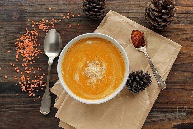 Тыквенный крем-суп — 90 рублей. Изображение № 4.