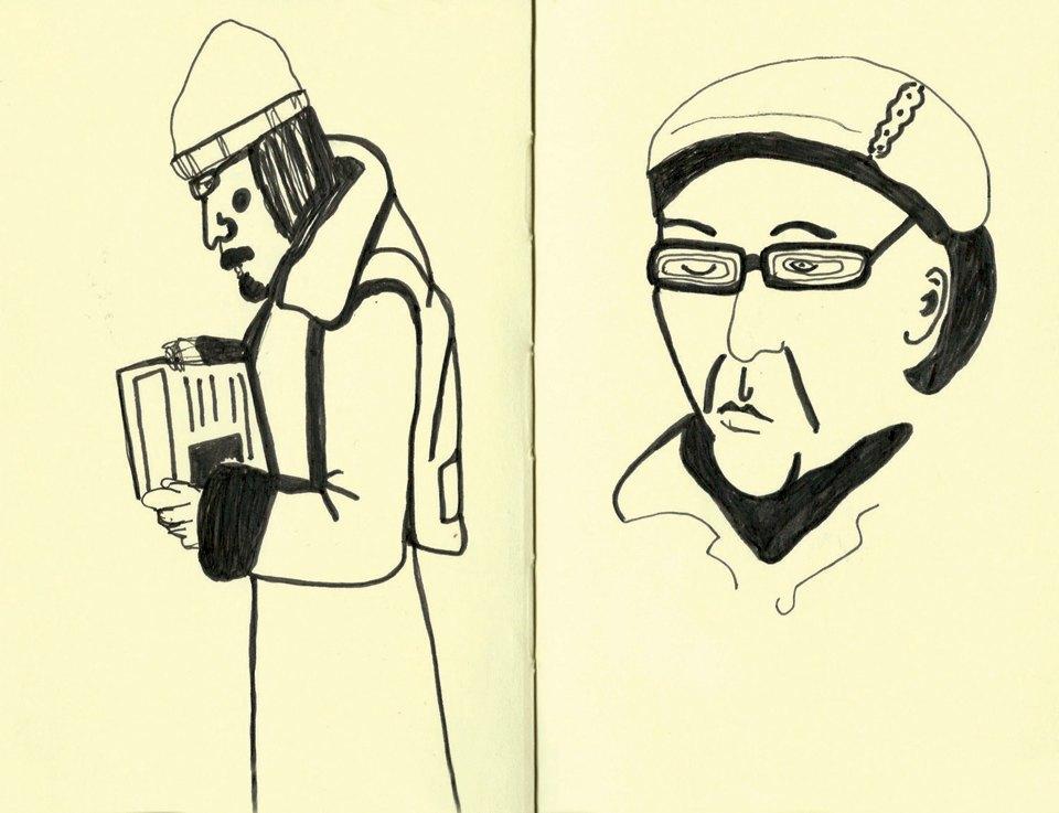 Выставка «Москва вэскизах LAM Sketching Club» впарке «Музеон». Изображение № 2.