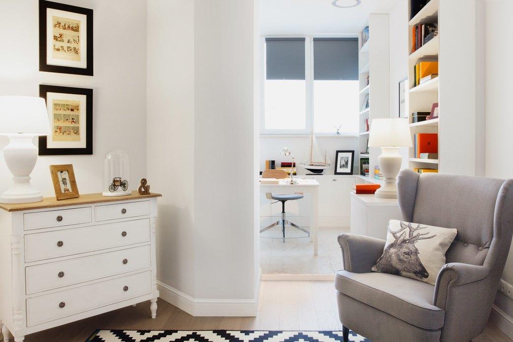 Квартира впослевоенном стиле для молодой семьи. Изображение № 4.