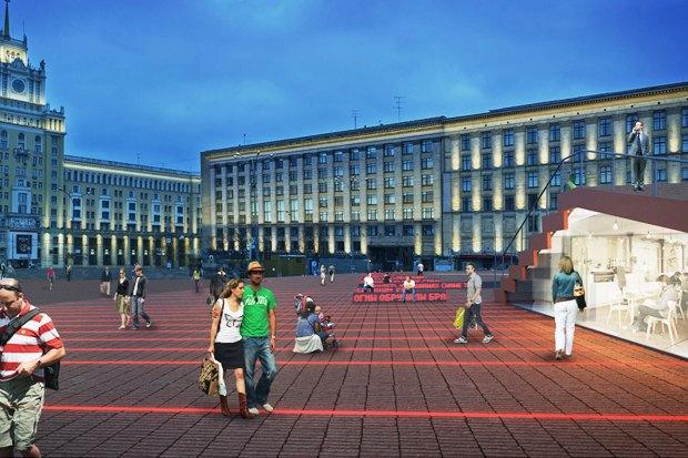 Wowhaus разработали проекты реконструкции московских площадей. Изображение № 7.