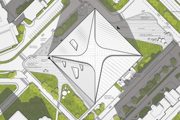 Представлены шесть проектов нового здания Политехнического музея. Изображение № 9.