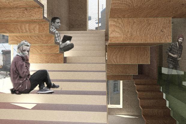Перестройка: Что делать с чёрными лестницами. Изображение № 3.