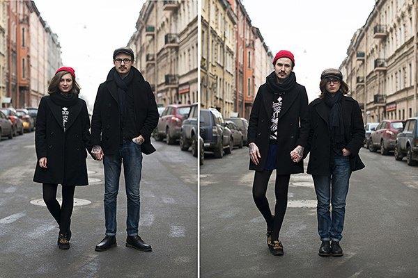 В Петербурге сняли аналог фотопроекта Switcharoo. Изображение № 9.