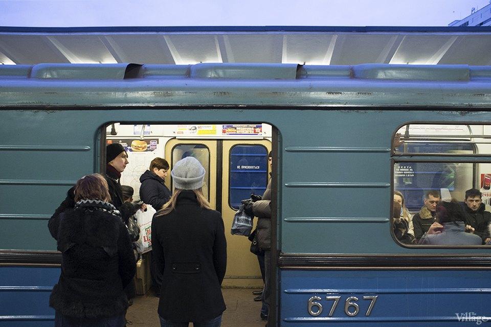 Фоторепортаж: Час пик на станции «Выхино». Изображение № 14.