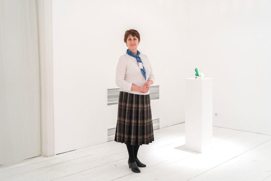 Смотрительницы Музея современного искусства — о своём отношении к экспонатам. Изображение № 3.