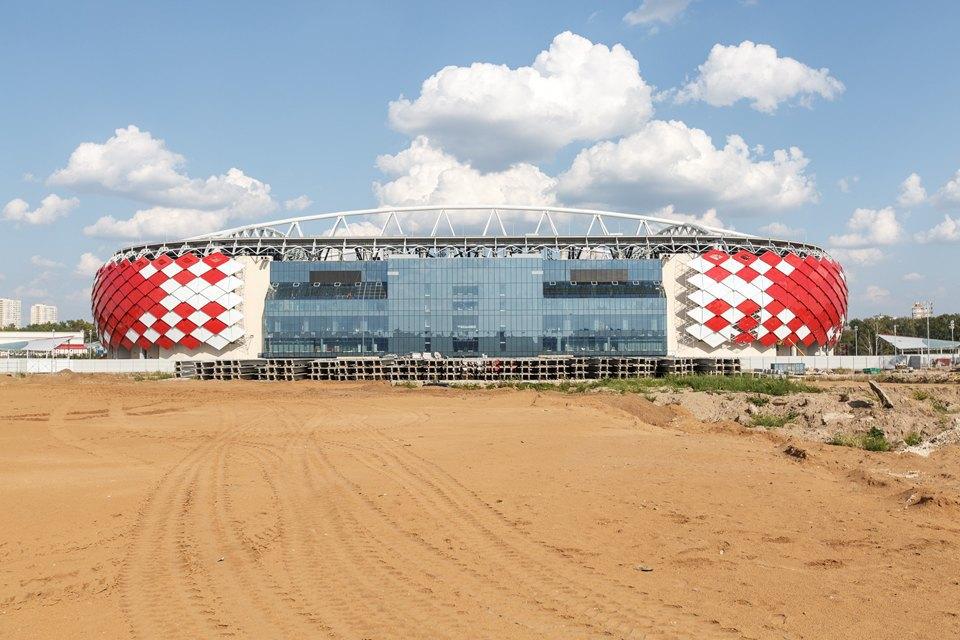 Стадион «Спартака». Изображение № 3.
