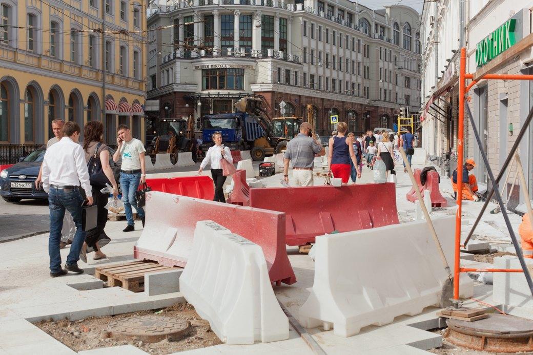 Её раскопали: Пешеходные улицы Москвы за месяц до открытия. Изображение № 14.