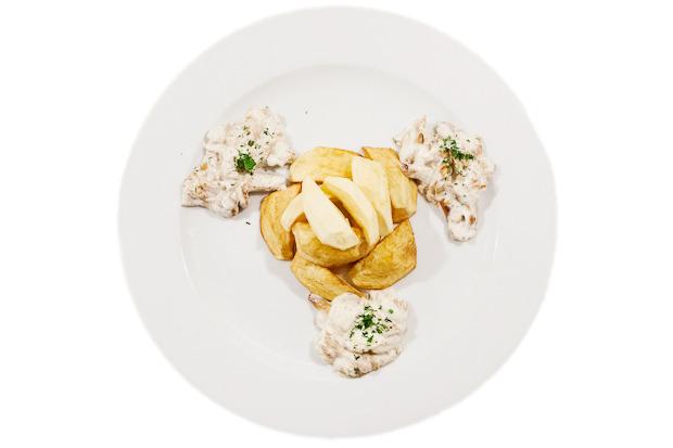 Сезонное меню: Блюда с лисичками в ресторанах Петербурга. Изображение № 13.